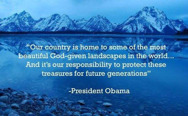 Take Action: Obama Calls for Congress to Reauthorize Land & Water Conservation Fund